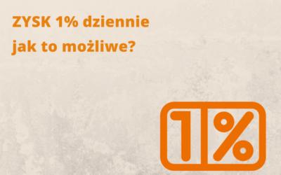 Alternatywne inwestycje: 1% dziennie. Jak to możliwe?