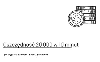 Oszczędziłem klientowi 20 000 – konsultacja oferty kredytowej